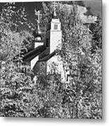 Eklutna Church Metal Print