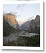 El Capitan. Yosemite Metal Print