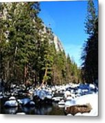 El Capitan's Creek Metal Print