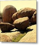 Elaphant Rocks 4 Metal Print