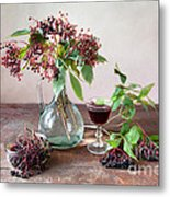 Elderberries 03 Metal Print