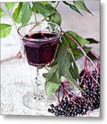 Elderberries 04 Metal Print