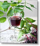 Elderberries 05 Metal Print