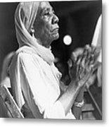 Elderly African American Woman Metal Print