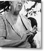 Eleanor Roosevelt 1884-1962, First Lady Metal Print by Everett