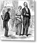 Election Cartoon, 1877 Metal Print by Granger