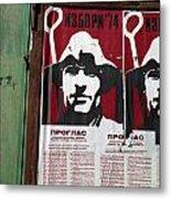 Elections 1974. Belgrade. Serbia Metal Print