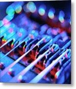 Electric Guitar Bridge Metal Print