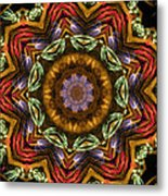 Electric Mandala 2 Metal Print