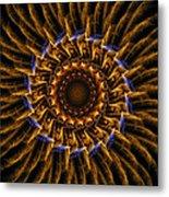 Electric Mandala 3 Metal Print