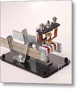 Electric Motor Metal Print