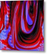 Electric Underground Metal Print