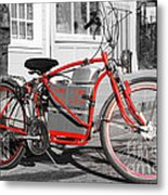 Electric Vehicle . Peddle Power . Infinite Miles To The Gallon . 7d12730 Metal Print