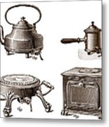 Electrical Appliances, 1900 Metal Print by Sheila Terry