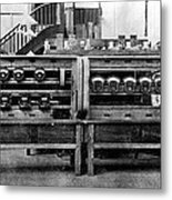Electrical Testing Station, 1906 Metal Print