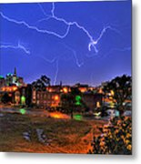 Electrifying Canvases Of Nature Metal Print