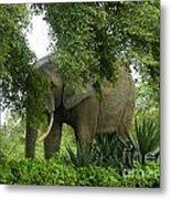 Elephant Beauty Metal Print