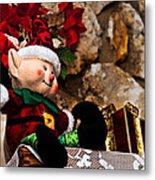 Elf On Shelf Metal Print