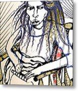 Elham Metal Print by Nina Mirhabibi