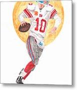 Eli Manning Superbowl Xlvi Mvp Metal Print