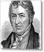 Eli Whitney (1765-1825) Metal Print