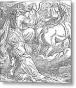 Elijahs Ascent To Heaven Metal Print