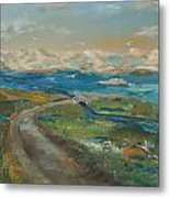 Elkhorn Slough Metal Print