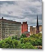 Ellicott Square Building     St. Joseph Cathedral     Prudential Guaranty Building Metal Print