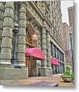 Ellicott Square Building And Hsbc Metal Print