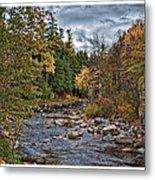 Ellis River Autumn Metal Print