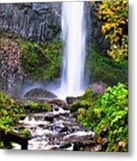 Elowah Falls 2 Metal Print