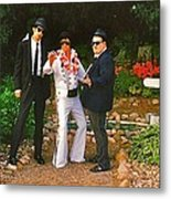 Elvis And The Blues Metal Print