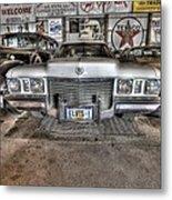 Elvis' Cadillac Metal Print