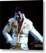 Elvis Is Alive Metal Print
