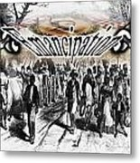 Emancipation Metal Print by Belinda Threeths