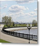 Embankment Metal Print
