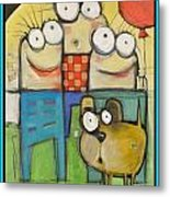 Embrace Your Inner Child Poster Metal Print