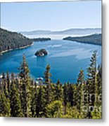 Emerald Bay Morning Metal Print