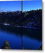 Emerald Bay Panorama Lake Tahoe Metal Print
