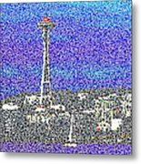 Emerald City Sailing Metal Print