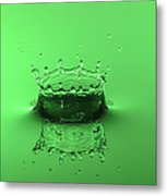 Emerald Crown Metal Print