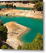 Emerald Lake I. El Chorro. Spain Metal Print