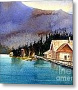 Emerald Lake Lodge B.c Metal Print