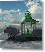 Emerald Throne Metal Print