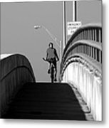 Emergency Stopping Only Metal Print