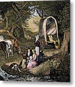 Emigrants: Appalachians Metal Print