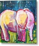 Emily's Elephant 1 Metal Print
