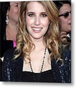 Emma Roberts At Arrivals For The Metal Print by Everett