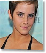 Emma Watson At Arrivals For Harry Metal Print