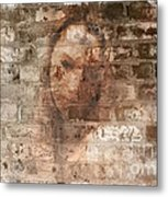 Emotions- Self Portrait Metal Print